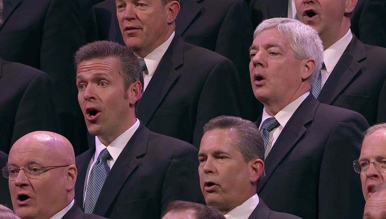 Huntsman and Murdock Singing in Conference